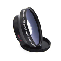 Camera Lenses 62mm 0 43X Super High Resolution Deluxe Digital Lenses Wide Angle Lens Converter