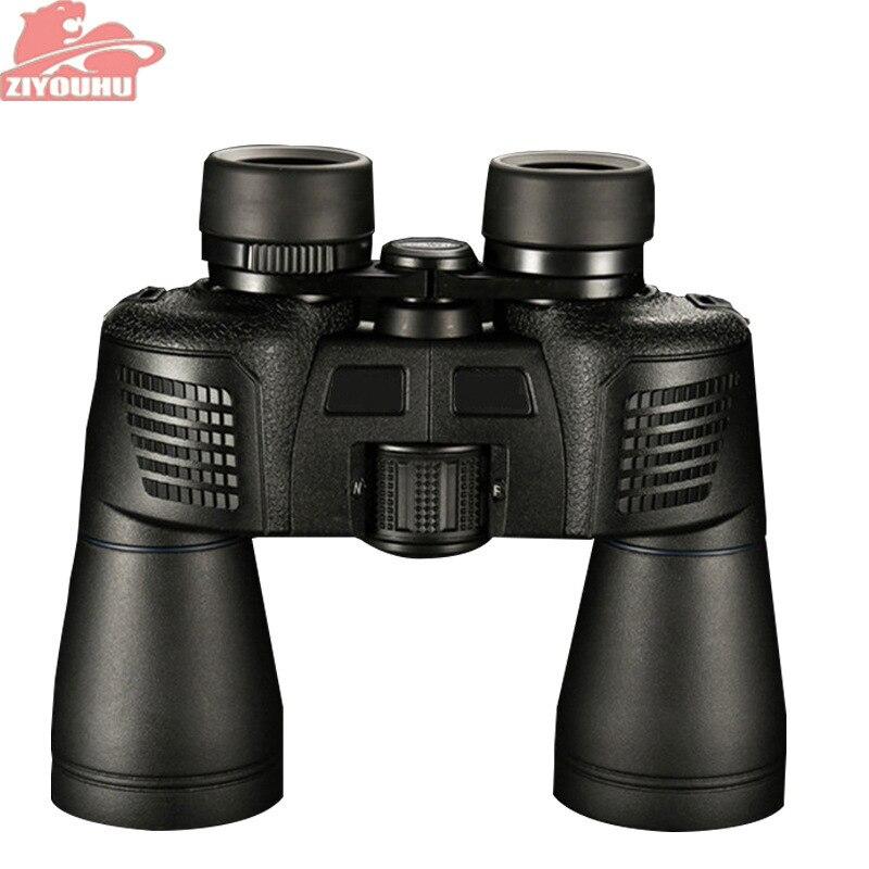 ZIYOUHU 16X50 jumelles haute puissance champ-lunettes télescope étanche à l'azote HD film vert bak4 tourisme optique extérieur noir