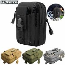Тактическая поясная Сумка Molle, водонепроницаемая нейлоновая многофункциональная повседневная мужская сумка для инструментов EDC, маленькая сумка, мобильный чехол для телефона, Охотничья сумка