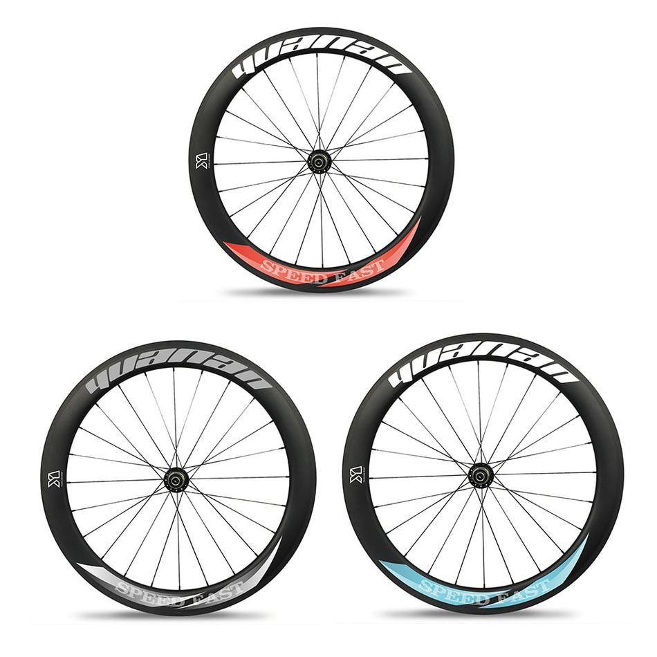 3 years warranty road race tubelss wheels rims aero spoke for Bicycle rims