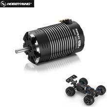 HobbyWing XeRun 4268 4274 SD G2 sensored بدون فرش 4 القطب inعداء المحرك 1600KV 1900KV 2200KV ل RC 1/8 1/10 سيارات