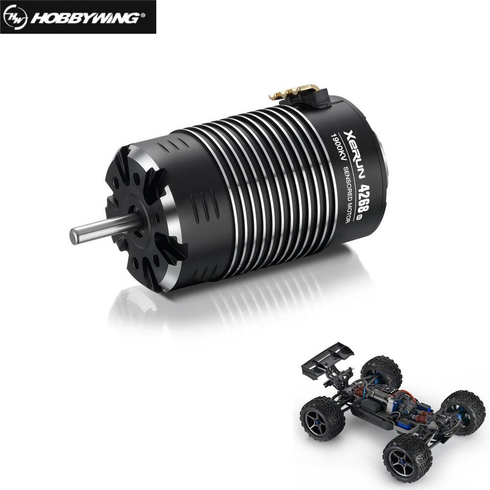 HobbyWing XeRun 4268 4274 SD G2 Sensored Brushless 4-pole Inrunner Motor 1600KV 1900KV 2200KV For RC 1/8 1/10 Cars