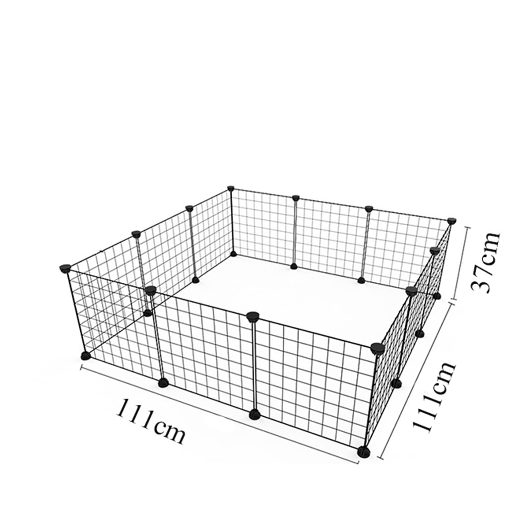 Foldable Pet Playpen Fence For Cat House Exercise Aviary For Pets Fitting For Dog Iron Fence Puppy Kennel House For Rabbit 1