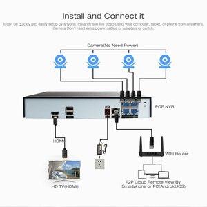 Image 3 - 4CH 4MP POE NVR Kit de système de vidéosurveillance 2MP étanche balle IP caméra extérieure Plug And Play sécurité système de Surveillance vidéo ensemble P2P
