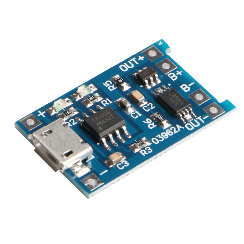 Micro 5V 1A USB 18650 Lithium Battery Charging Board Module+Protection New Sell #R179T#Drop Shipping 1s 3 2v lithium iron phosphate battery protection board 5a for 18650 polymer battery charging module