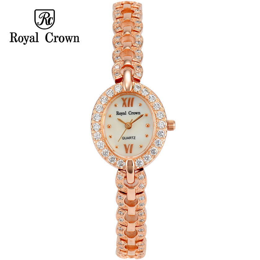 Luxury Jewelry Lady Women's Watch Fine Fashion Hours Mother of Pearl Bracelet Rhinestone Crystal Girl's Gift Royal Crown Box люстра потолочная natali kovaltseva palermo 11417 5c white gold