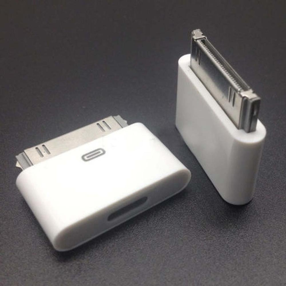 8 Pin Female To 30 Pin Male Adapter Converter For IPhone 4 4S IPad 2 3 IPad Touch 3 4