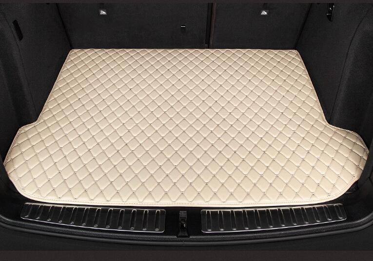 1PCS 3D Rear Trunk Cargo pad mat Mats For Land Rover Discovery 3/4 2 Sport Range Rover Sport Evoque (6colors) custom fit car trunk mat for land rover discovery 3 4 freelander 2 sport range rover sport evoque 3dcarstyling cargo liner hb24