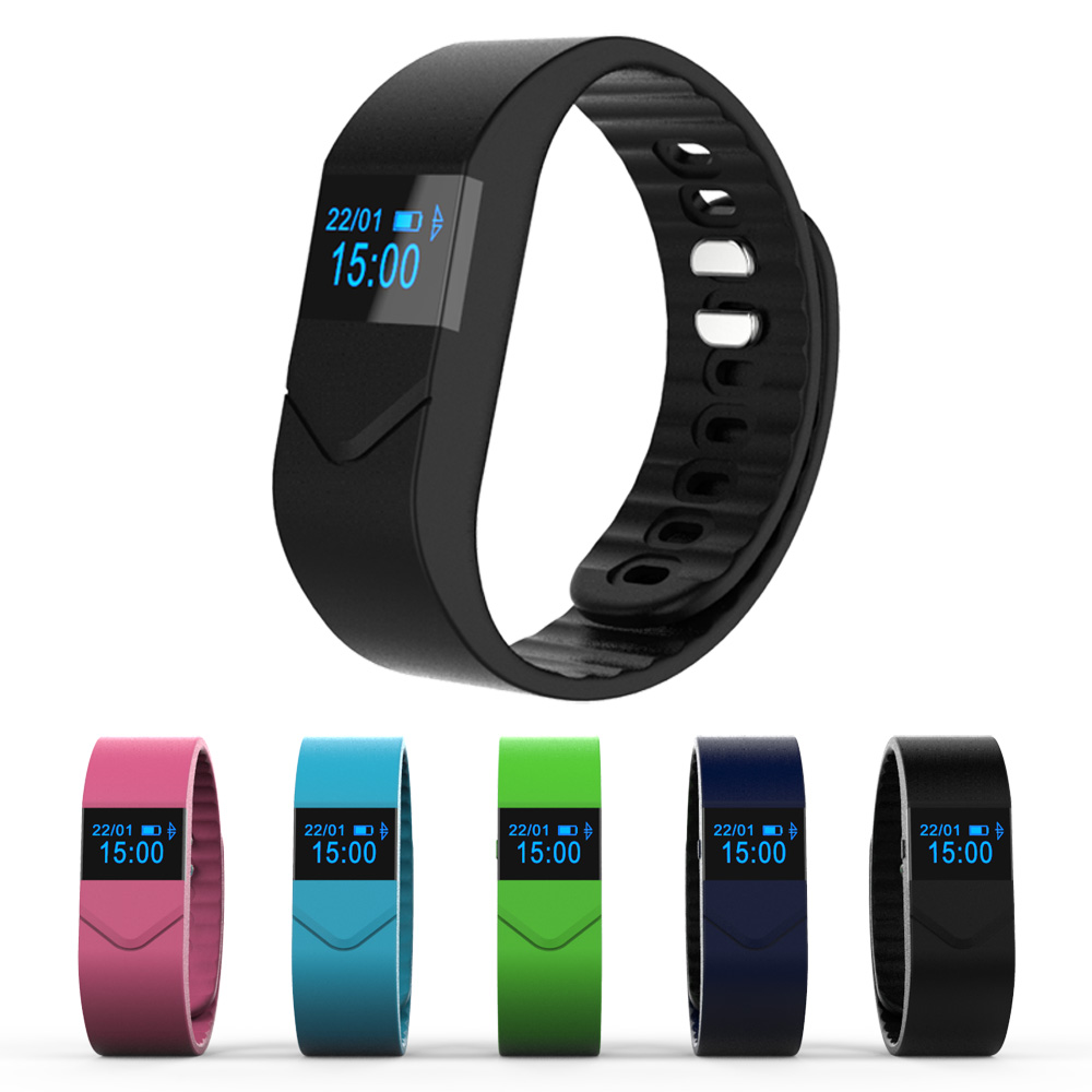 New Arrival Smart Bracelet Wristband with Anti Lost Reminder Sleep Monitor Heart Rate Monitor Watch for
