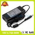 Адаптер переменного тока 19 В 4.74A 90 Вт 384020-002 HP-AP091F13LF SE 384020-003 ноутбук зарядное устройство для Compaq Presario CQ42 CQ43 CQ430 CQ43-400 CQ45