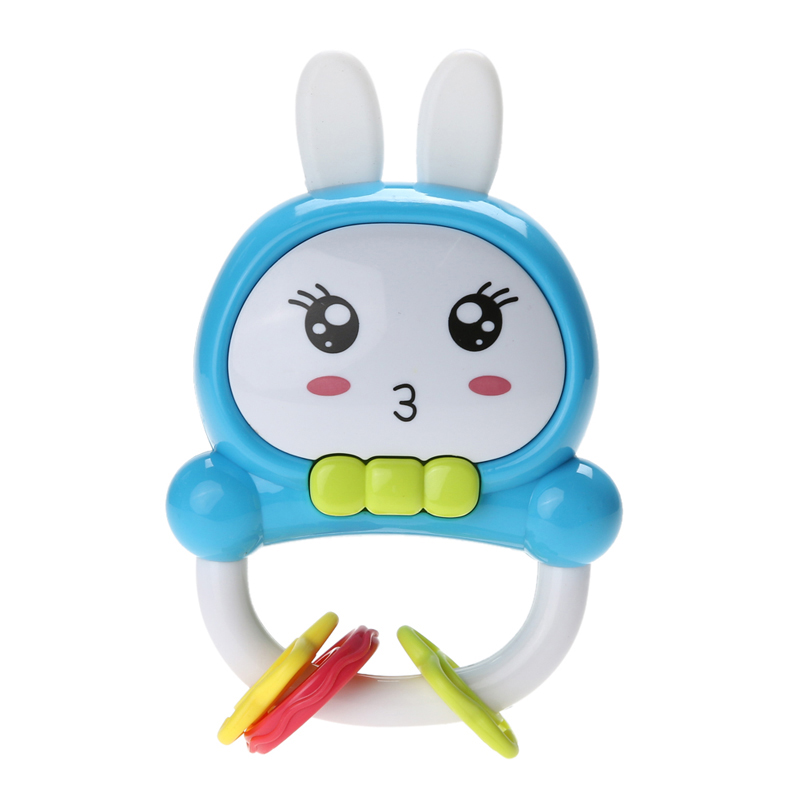 Colorful Baby Toy for Kids Brinquedos Lights Rabbit Ears Educational Music Toys Baby Cute Rattles