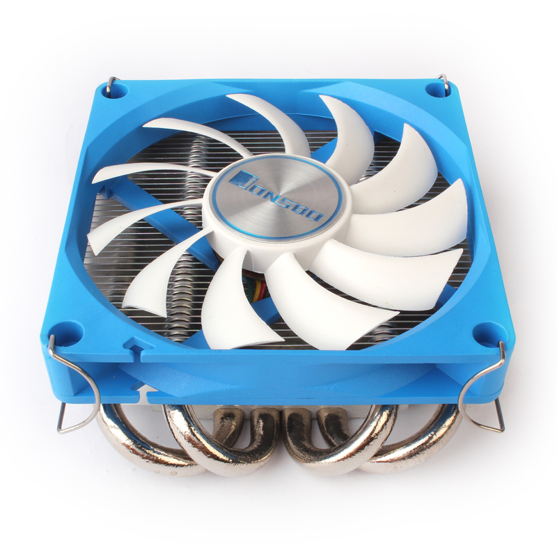 Computer radiator JONSBO HP-400 9CM Fan Under pressure 4 heat pipe Ultra-thin radiator  цены