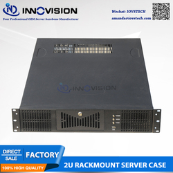 Stable 19 2U rackmount case RC2630A-2 supports MAX 12*13 ATX M/B with Three paralle expansional slots for full-height Card