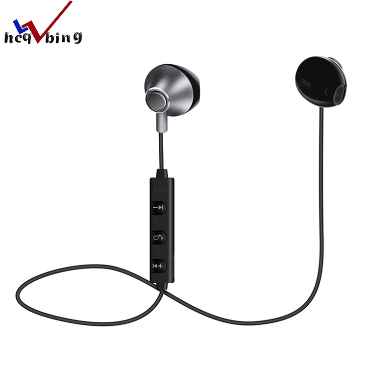 HCQWBING 820 In-Ear Wireless Bluetooth Earphone Magnetic SM820 Stereo Sport Running Headsets With Mic For Earpod Samsung Xiaomi