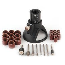 цена на 29Pcs Dremel Rotary Tool Mini Drill Woodworking Drilling Bit Set Accessories Set New