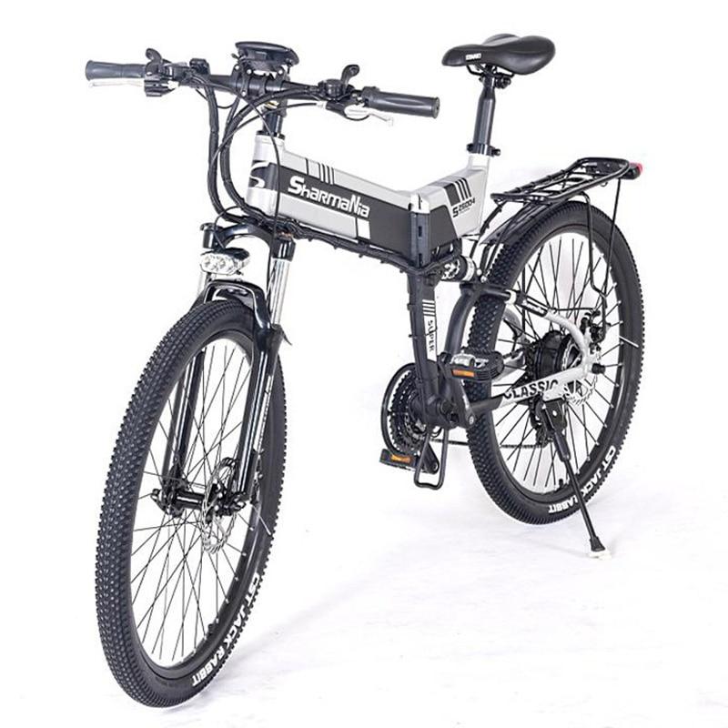 Foldable Electric Bike 48V 350w 13AH Lithium Battery