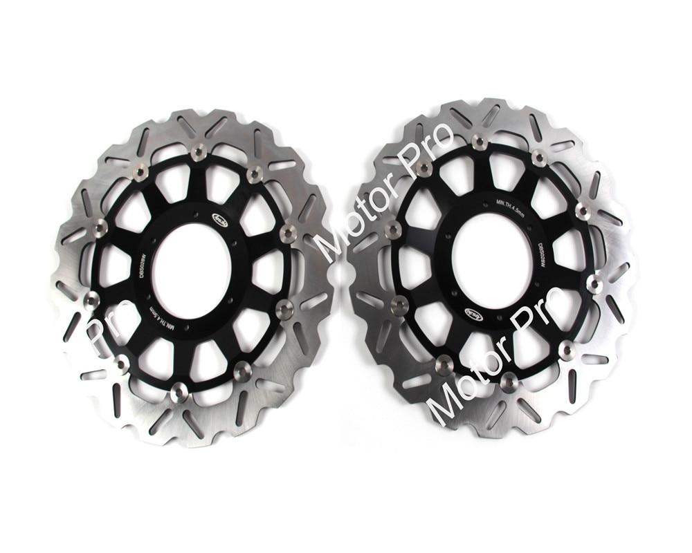 2 PCS CNC Motorcycle Front Brake Disc FOR HONDA CBR929 RR CBR929RR 2000 2001 CBR954RR CBR954 RR 2002 2003 brake disk Rotor 9 color cnc brake clutch levers blade for 2000 2001 honda cbr929rr cbr 929 rr