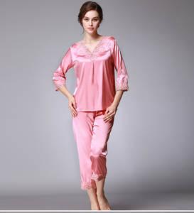 Liva girl Pajamas For Women pyjamas Pajama Sets Silk Satin ba6d25ab5