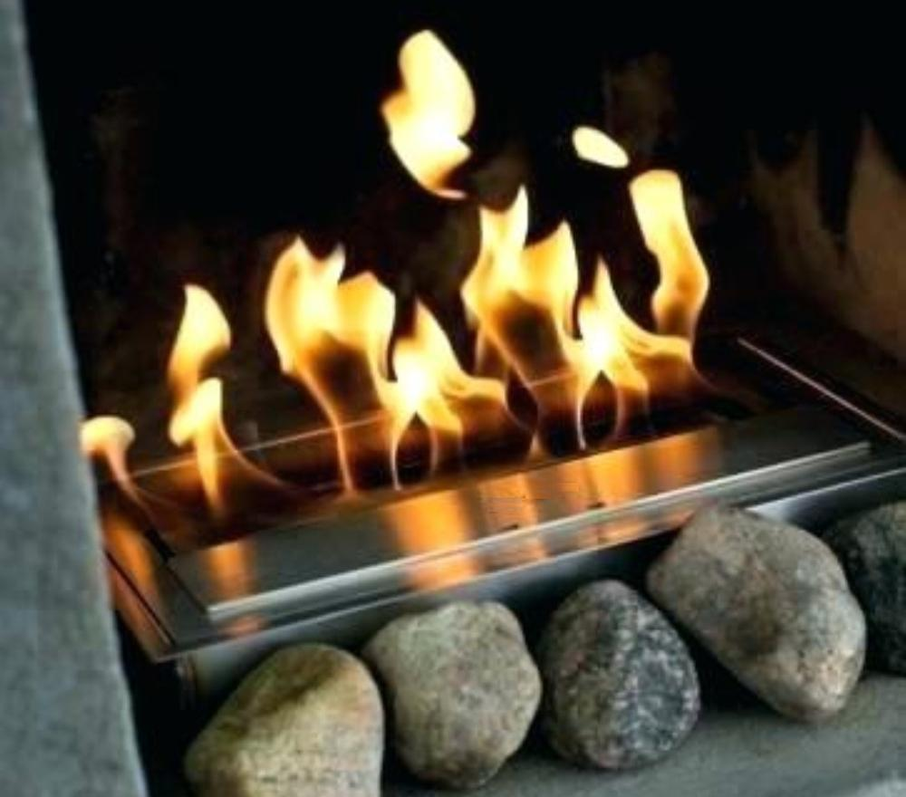 Inno Living Fire 36  Inch Biofuel Burner Metal Box Fireplace