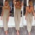Women dress 2016 New sexy Backless vest beach Women dress