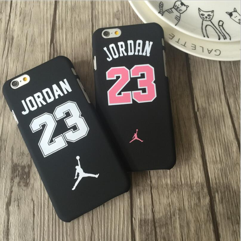Fashion Supreme Slim Matte Case For iPhone 7 7Plus Fundas PC Hard Back Cover Jordan Matte Case For iphone 6 6s Plus 5 5s SE Capa