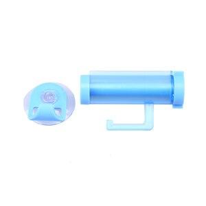 Image 5 - Color al azar rodando tubo exprimidor de pasta de succión limpiador fácil dispensador de tonto baño exprimidor de pasta dispensador de pasta de dientes dispensador pasta dental dispensador de pasta de dientes niño