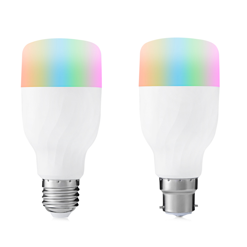 TP005 Bluetooth Smart WiFi LED Light Bulb App Control Dimmable Color Changing For Decor Christmas Party Lighting s15 smart led bulb bluetooth 4 0 speaker app control support