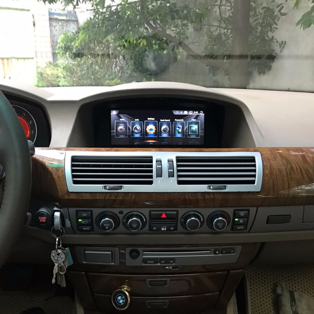 8.8 inch Car Multimedia Player for BMW 7 series E65 E66 2003 2007 GPS Navigation MP5 Bluetooth Wifi