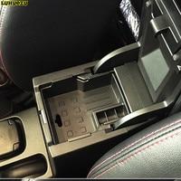 Luhuezu Non Slip Mat In Central Armrest Container Holder Stowing Box For For Suzuki Vitara Accessories