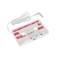 New Audio Car Cassette Tape Adapter Converter 3.5 MM For iPod video nano MP3 CD MD Cassette Tape Adapter(China)