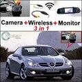 Câmera Wi-fi Sem Fio + Receptor + Monitor Espelho especial Retrovisor de Volta up Sistema De Estacionamento 3 em 1 Para MB Mercedes Benz SLK R171