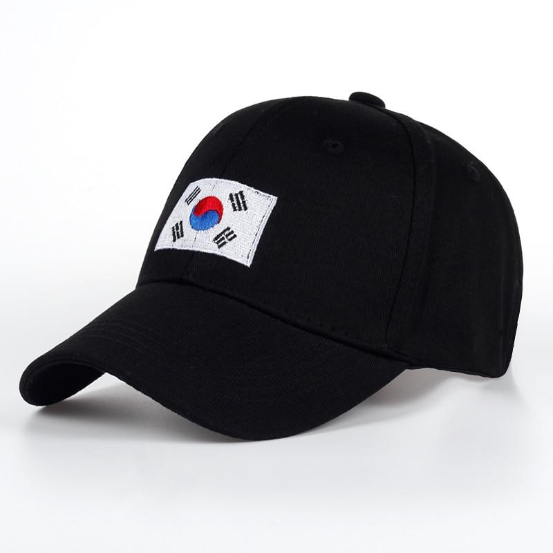 42485a74391 TUNICA 2017 New Korean Version of GD Baseball Cap Flag Of Korean Hat Cotton  Snapback Hip Hop Cap Sun Hat Bone Planas-in Baseball Caps from Apparel ...