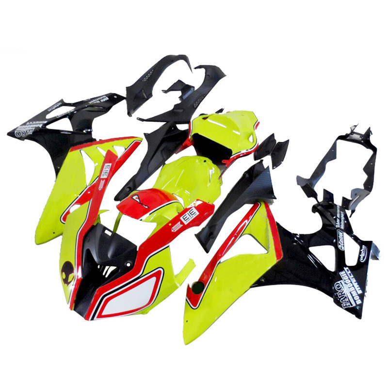 Plans to customize For BMW S1000RR 2010 2011 2012 2013 injection molding ABS Plastic motorcycle Fairing Kit Bodywork yellow B7 for bmw s1000rr fairing s1000 rr s 1000rr s1000 rr 2010 2013 red and white injection mold bodywork fairings kit