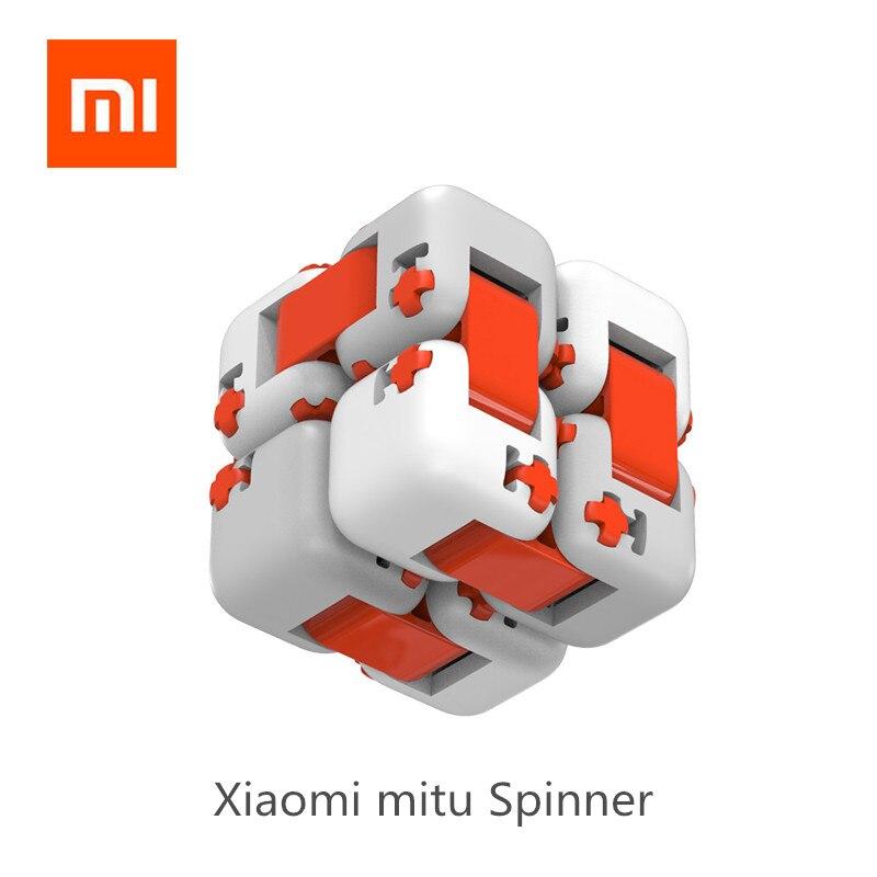 Оригинальный xiaomi куб Миту Spinner пальчиковые кубики интеллект игрушки умный палец игрушки Портативный Для xiaomi умный дом подарок для малыша купить на AliExpress