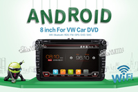 2 Din Quad Core Android 6 0 Car DVD Player For VW POLO GOLF 5 6