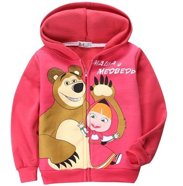 768210a1e New Baby Girls Cartoon Warm Suits Autumn Long Sleeves Hoodies+ Pants ...