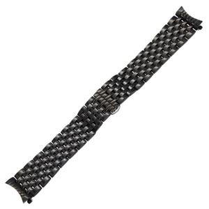 Image 5 - Kavisli Ucu Paslanmaz Çelik saat kayışı için Seiko 5 SKX007 Premier Üstün Presage Bilek Kayışı Gümüş Gül Altın 18mm 20mm 22mm