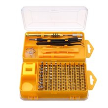 108 in 1 Screwdriver Sets Multi-function computer repair tools Essential tools Digital mobile phone repair P25