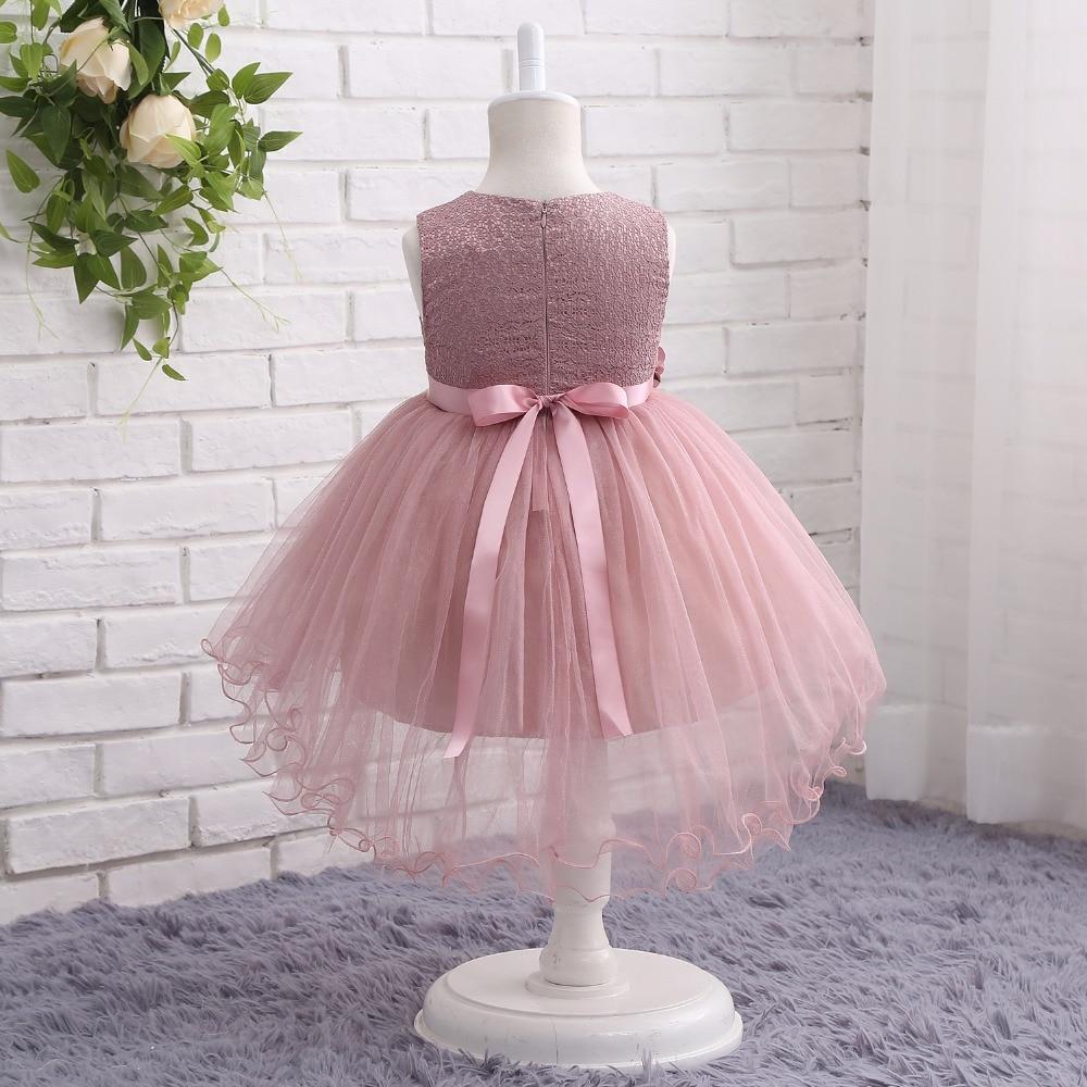 Walk Beside You Tutu Flower Girl Dresses Pink Green Gray Short Front