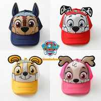 2019 véritable pat' patrouille coton mignon enfants chapeaux casquettes chapeaux Chapeau chiot imprimer fête Chapeau enfants cadeau d'anniversaire enfants jouet