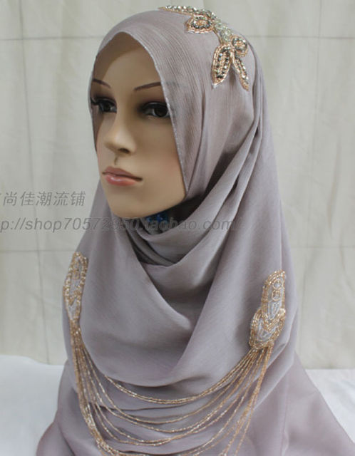 Fashion bandanas hijab scarf cationic fabric