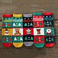 Primavera y Otoño Invierno de Las Mujeres algodón de la historieta Coreana caliente en tubo de Navidad socksn Mujer Calcetines de Alta Calidad de las mujeres