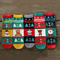 Spring and Autumn Winter Women's Korean  cartoon cotton warm in tube Christmas women's socksn High Quality Woman Socks