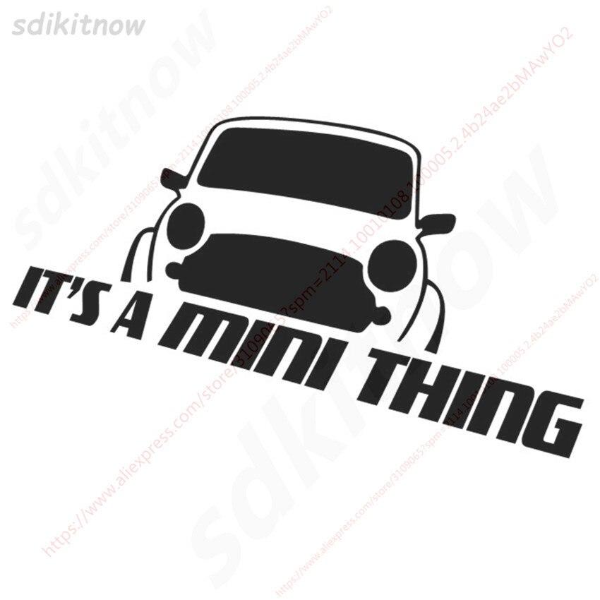 20x8 см это мини вещь Наклейка стиль окна двери украшения тела для BMW mini Cooper R50 R52 R53 R56 R57 R58 R60