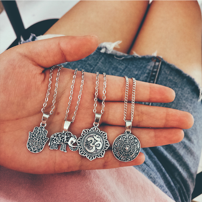 Women's Boho Style Multilayer Necklace 2