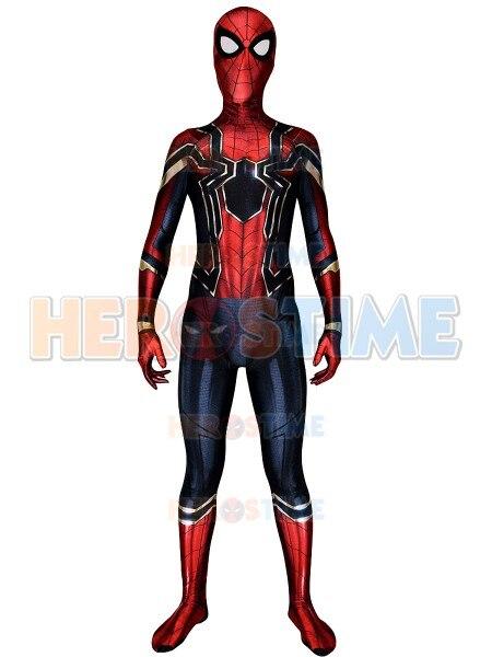 Eisen Spinne Homecoming Spiderman Farbstoff Unter Gedruckt Cosplay ...