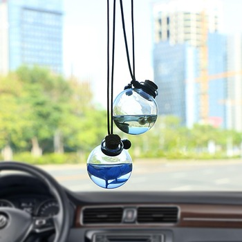 Car Hanging Pendant Glass Perfume