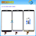 Original replacement front lens glass For LG G3 D855 D850 D851 VS985 LS990 touch screen digitizer with flex cable+free tools