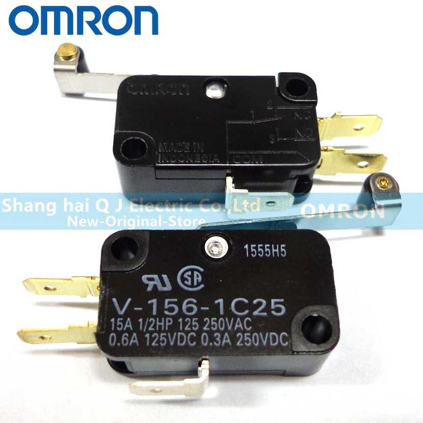10Pcs New Omron Micro Switch V-155-1A5 V-155-1A5