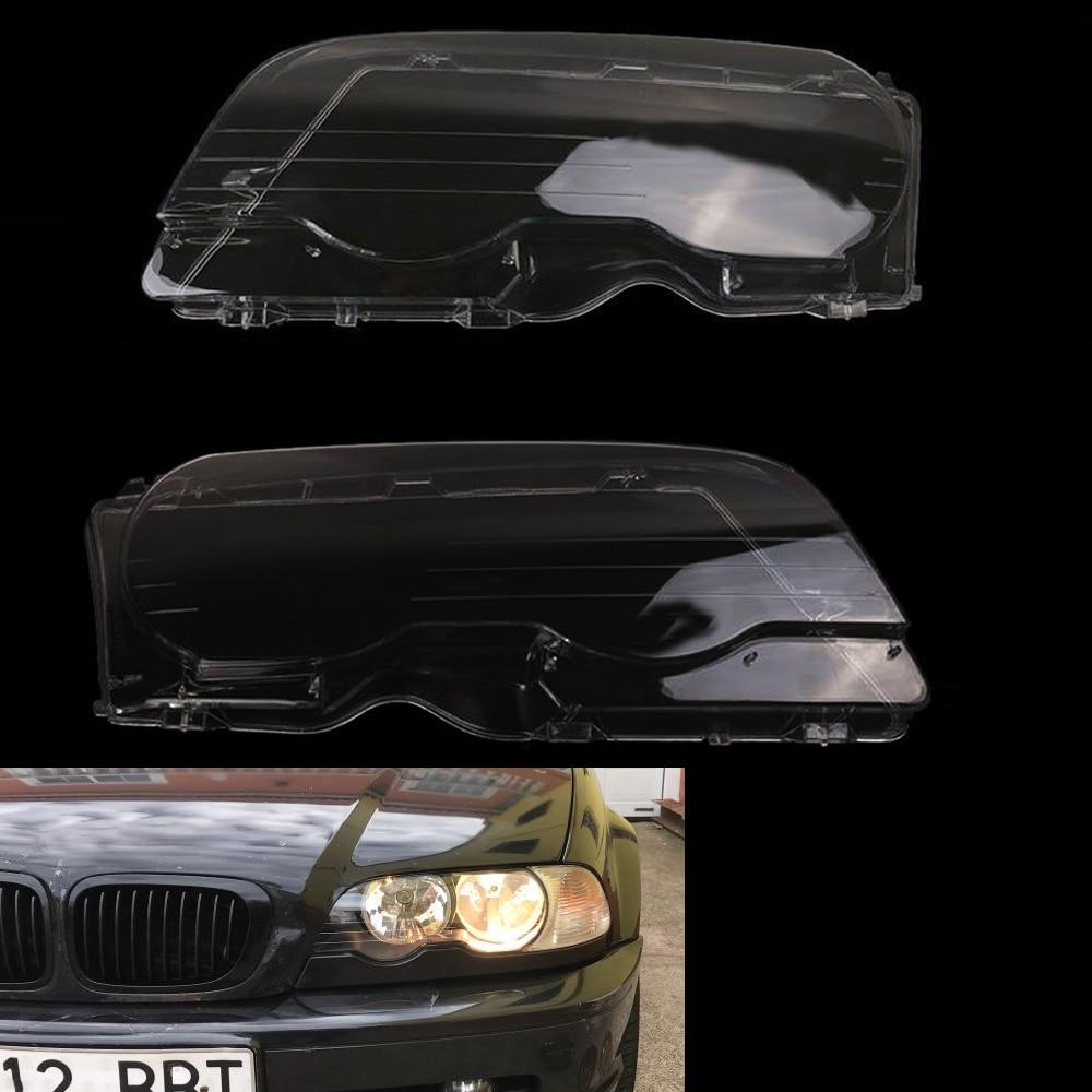 Car Headlight Headlamp Clear Lens Plastic Shell Cover ...